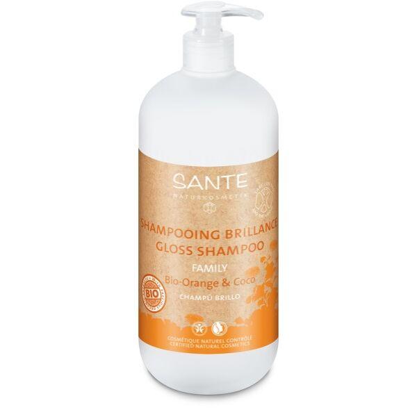 Sante családi Selyemfény sampon bio narancs & kókusz - 950 ml - SLS-mentes
