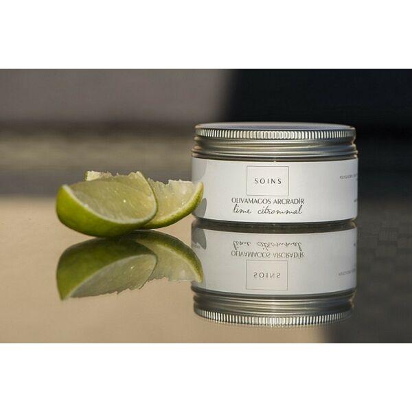 Soins olívamagos natúr arcradír lime illattal
