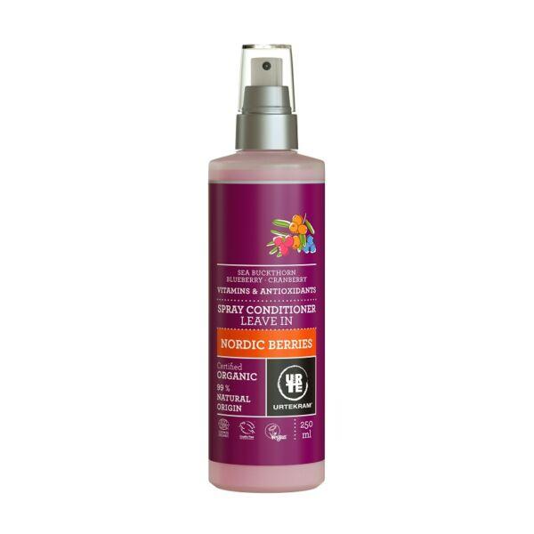 Urtekram bio erdei gyümölcs natúr hajkondicionáló spray