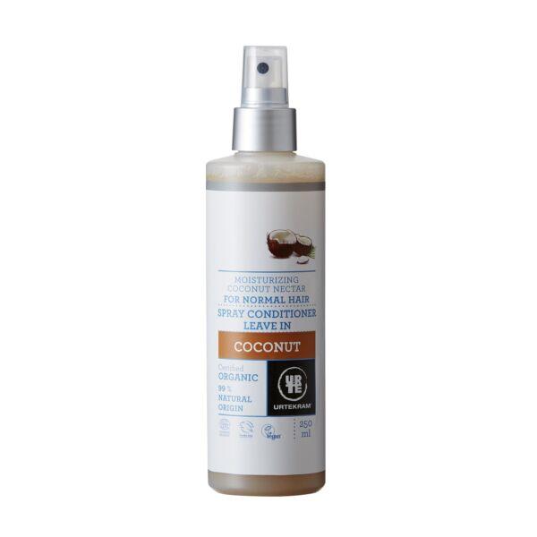 Urtekram bio kókusz natúr hajkondicináló spray aloe verával