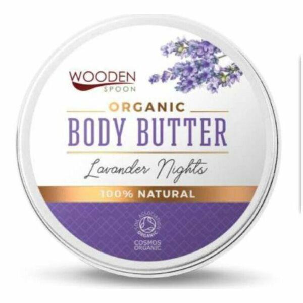 Wooden Spoon MINI levendula bio testvaj shea vajjal és jojobaolajjal -15 ml
